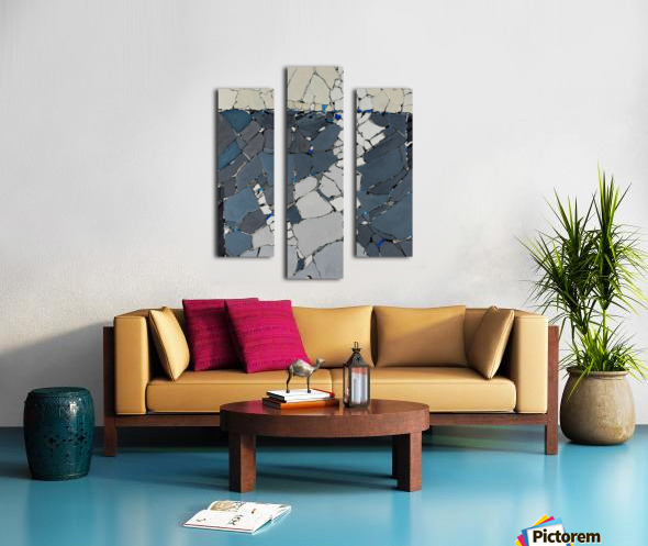 Open fields - Contemporary Art Impression sur toile