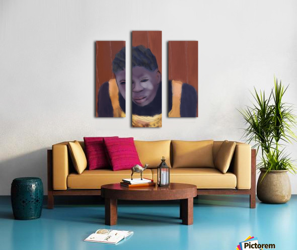 Whitney Plantation Slave Girl 4 Canvas print