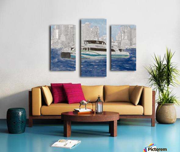 MBTA Hingham-Hull Ferry Canvas print