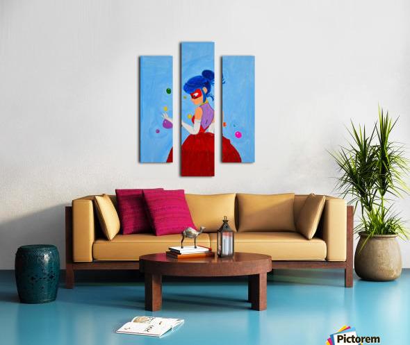 Elegant Ladybug. DaVere h. Canvas print