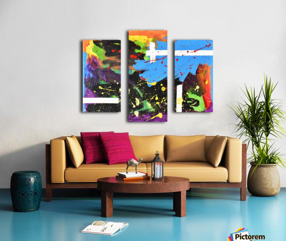 Bright Abstract. Walker W. Canvas print