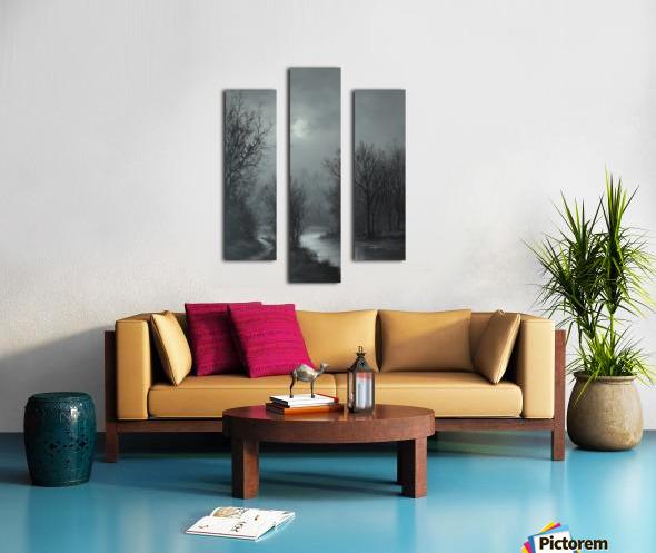 Hint of Sunlight Canvas print