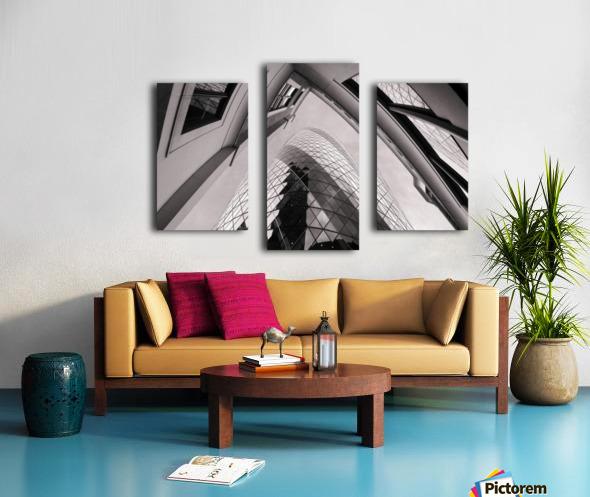 Gherkin Canvas print