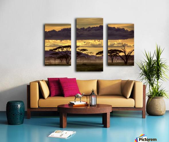 Good evening tanazania Canvas print