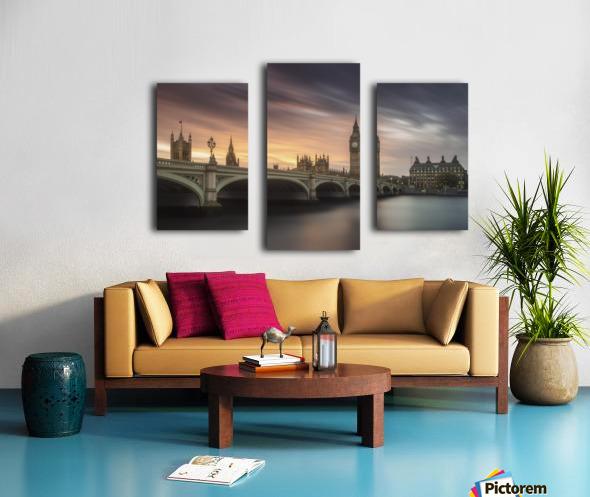 Big Ben, London Canvas print