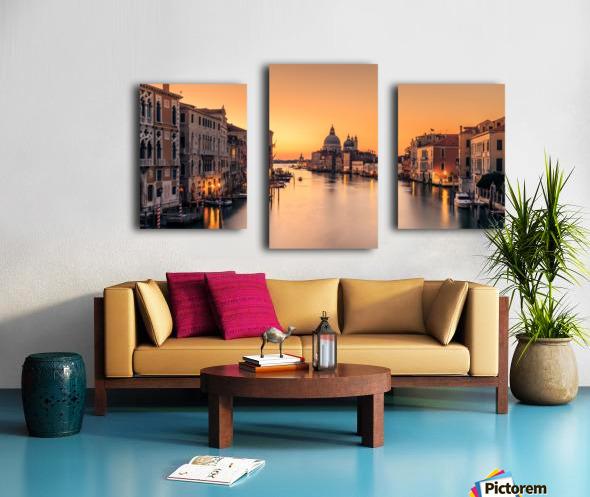 Dawn on Venice Impression sur toile
