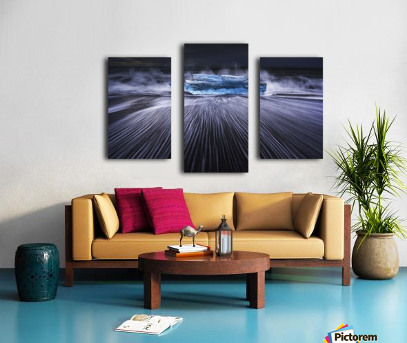 Blue Diamond Canvas print