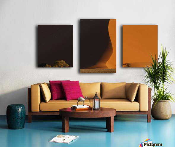 2017.06 - Essence of Sossusvlei Canvas print