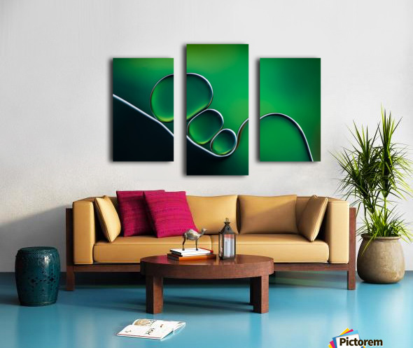 Shifting Shapes Canvas print