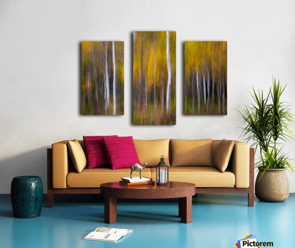 Abstract Fall Canvas print