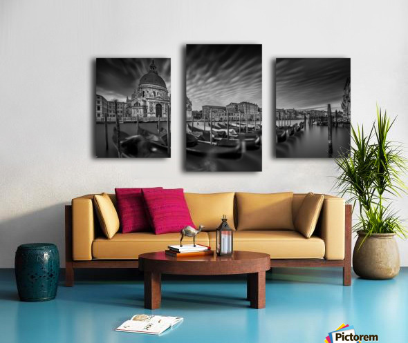 canale grande Canvas print