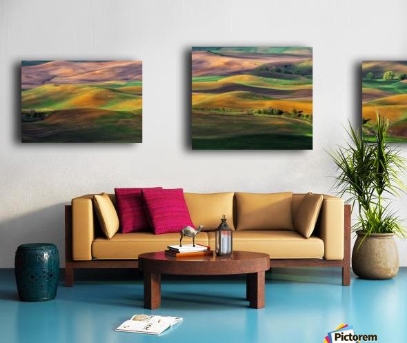 The Palouse Canvas print
