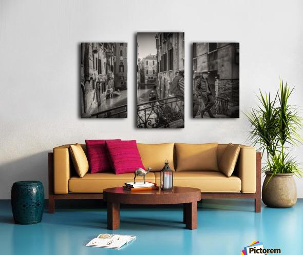 Gondolieri Canvas print