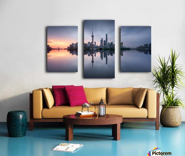 Good Morning Shanghai Canvas print