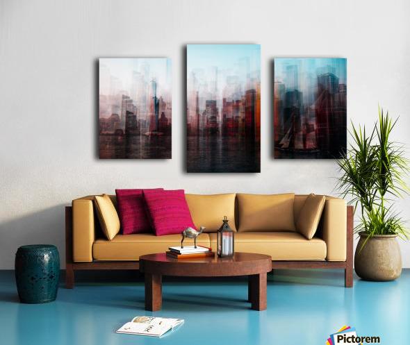 Manhattan Impression sur toile
