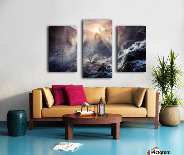 "Jiuzhaigou China a€Še""a¹»aœa¢ƒa€‹ Canvas print"