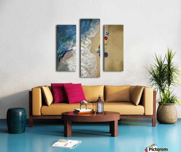 hi summer! Canvas print