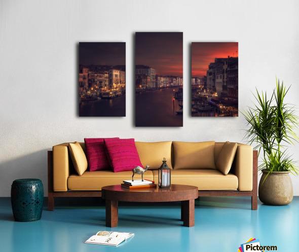 Gran canal Canvas print