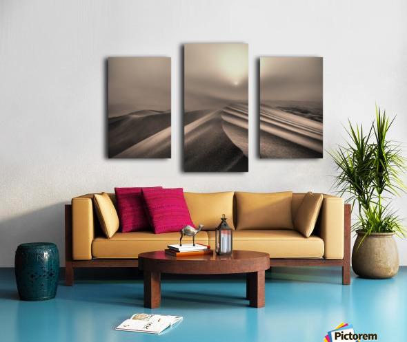 The perfect sandstorm Canvas print