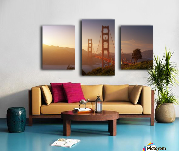South Golden Gate. Canvas print