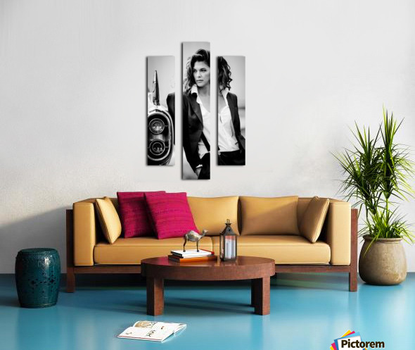 Jamie and the T-Bird Canvas print