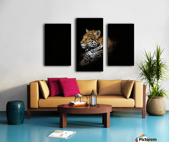 Jaguar Portrait Canvas print