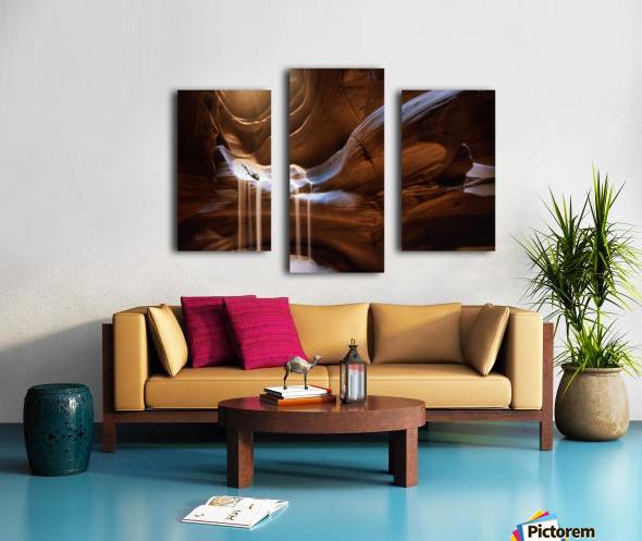 Antelope Waterfall Canvas print