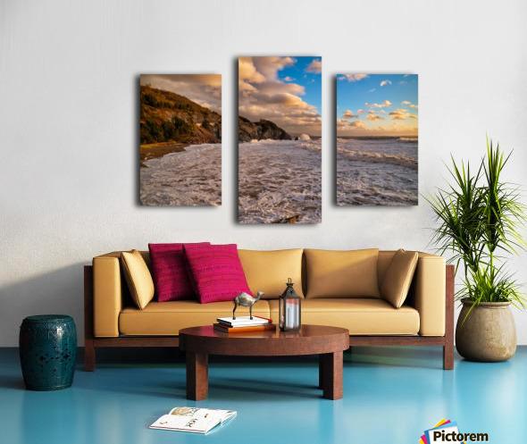 Raging Seas Canvas print
