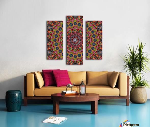Cherga Mandala I Canvas print
