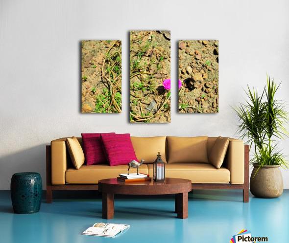 Flower16 Canvas print