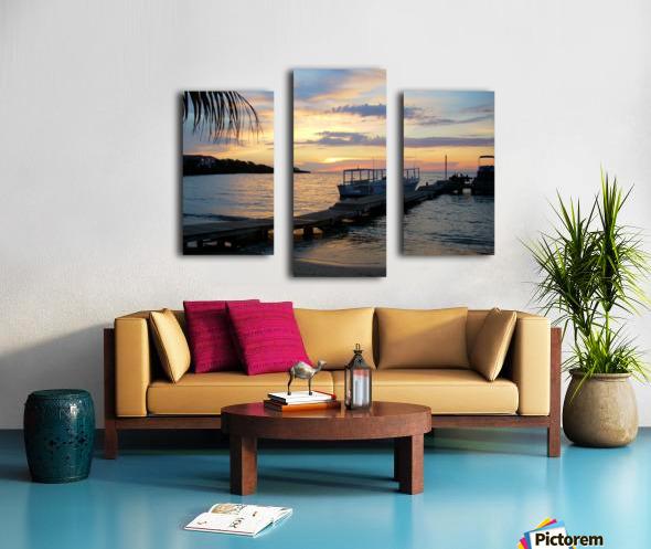 Sunset15 Canvas print