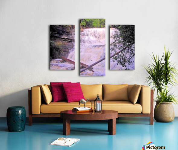 Waterfall8 Canvas print