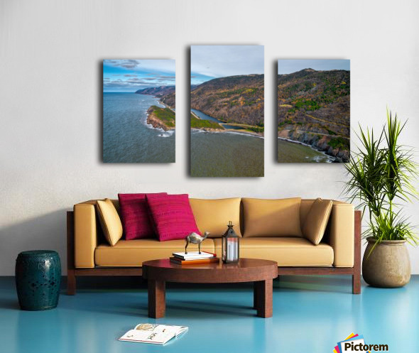 Cabot Trail Canvas print