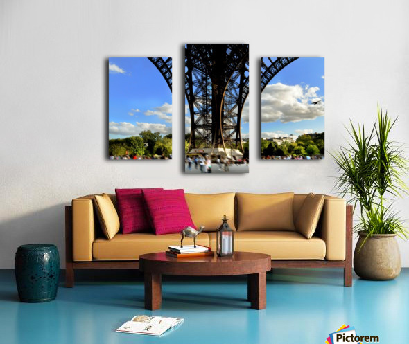 Life under the Eiffel Tower Canvas print