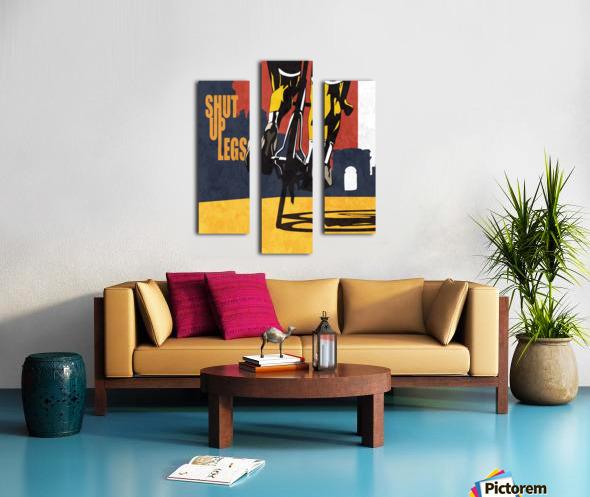 Shut Up Legs Canvas print
