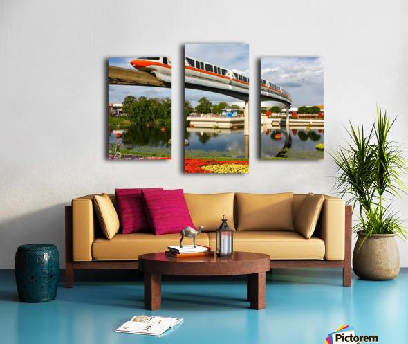 EPCOT Monorail Canvas print
