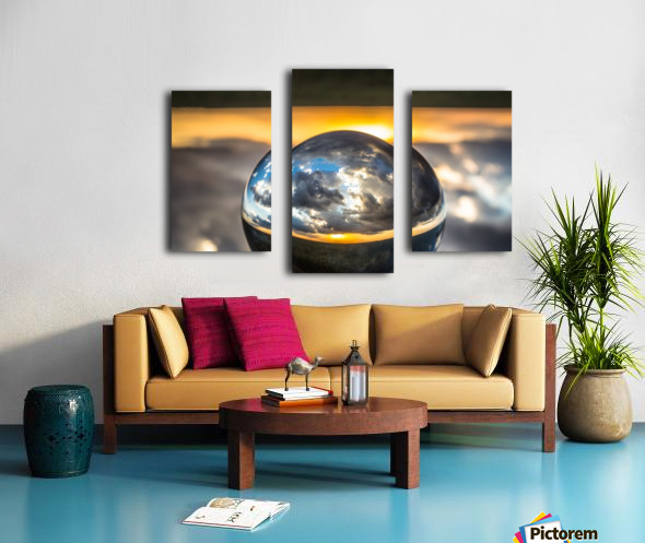 Lens Ball5 Canvas print