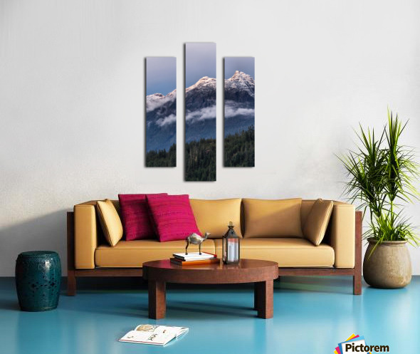 September chill Canvas print