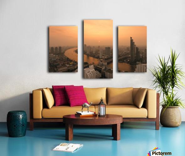 BANGKOK 01 Canvas print
