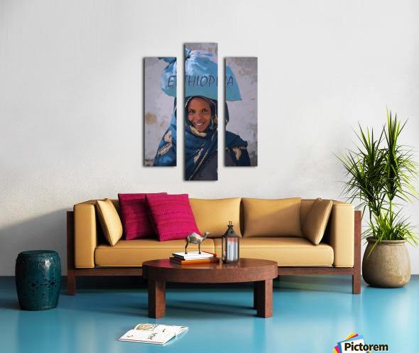 Ethiopian women Canvas print