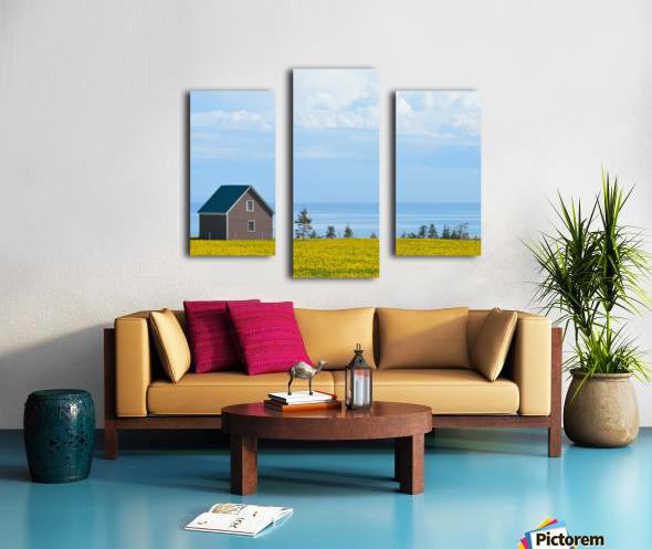 Prince Edward Island landscape Impression sur toile
