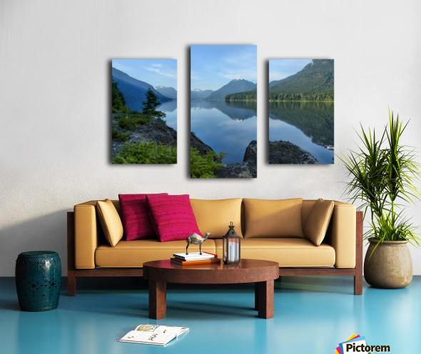 Strathcona calm Canvas print