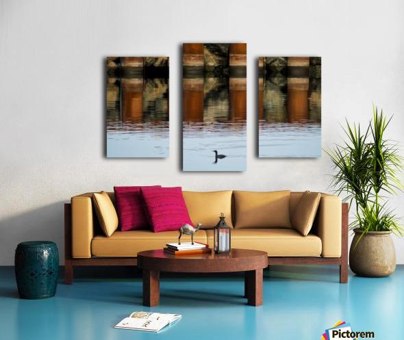 The breakwater Impression sur toile