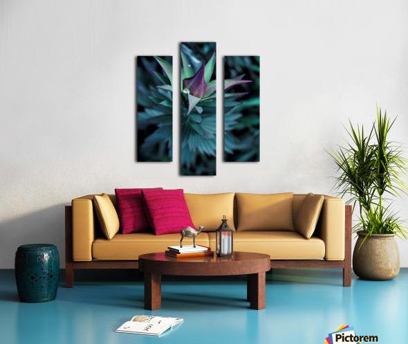 Funky flora Impression sur toile