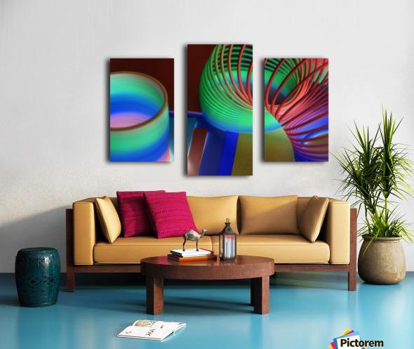loopy Canvas print