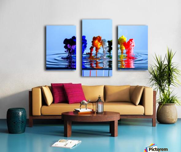 drizzles Canvas print