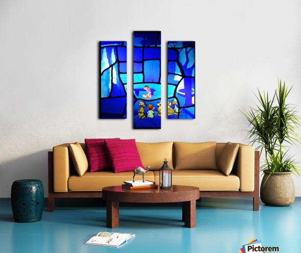 cinderella 2 Canvas print