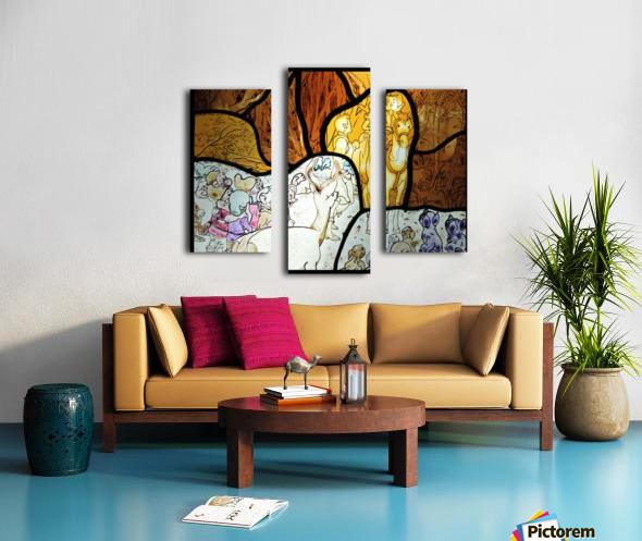 Snow White 1 Canvas print