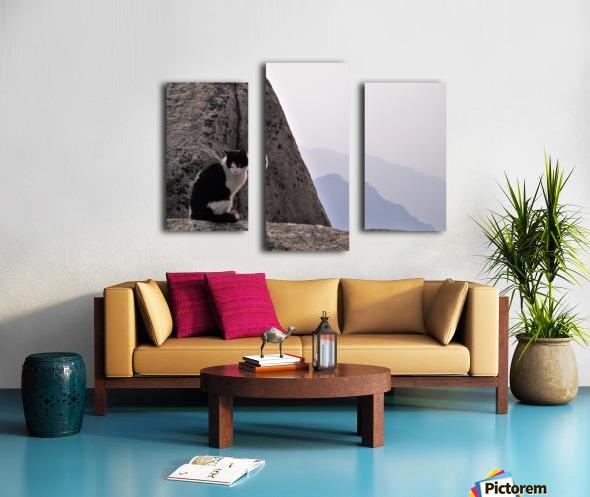 Mountain Cat Canvas print