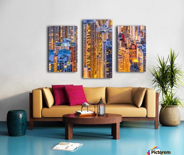 HONG KONG 34 Canvas print